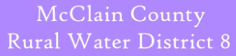 McClain County Rural Water District 8