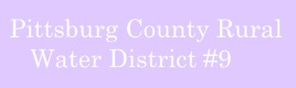 Pittsburg County Rural Water District #9